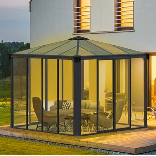 Ledro 10 ft. W x 10 ft. D Aluminum Patio Gazebo by Palram