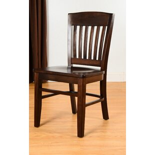 Alcott Hill Kershaw Solid Wood Dining Chair (Set of 2)