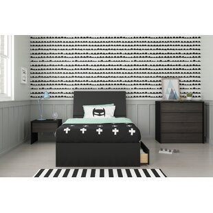 Lithonia Twin Platform 4 Piece Bedroom Set by Ebern Designs