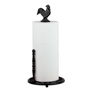 Rooster Countertop Free Standing Paper Towel Holder