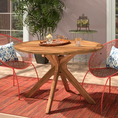 Kaylie Solid Wood Dining Table by Mistana Great Reviews