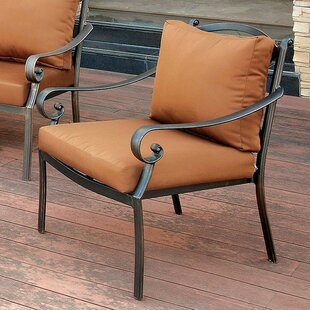 Villalobos Patio Chair with Cushion