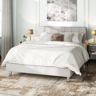 Stamey Kingsize (5') Upholstered Platform Bed By Brayden Studio