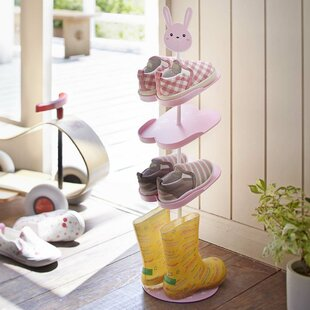 Best Price Kid's 4-Tier 3 Pair Shoe Rack By Yamazaki Home