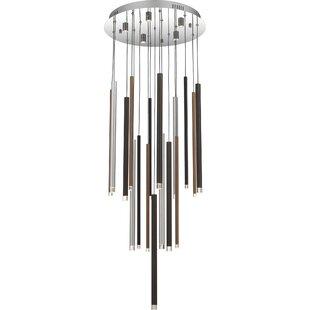Braaten 7-Light LED Cluster Pendant by Orren Ellis