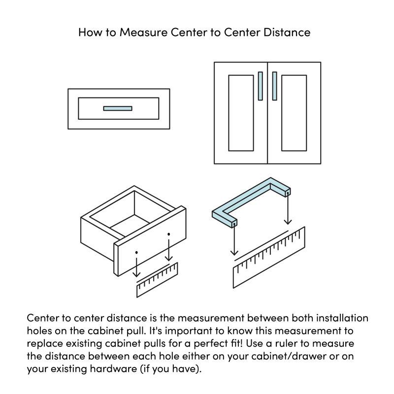 3 Center To Center Cup Bin Pull Reviews Allmodern