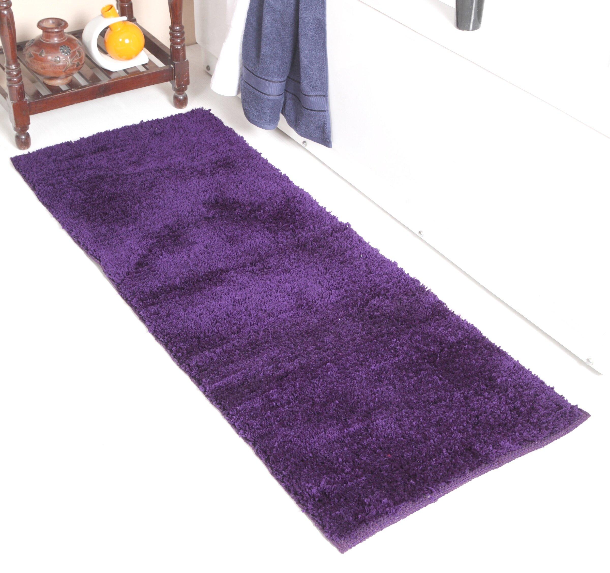 Purple Bath Rugs Mats You Ll Love In 2021 Wayfair Ca