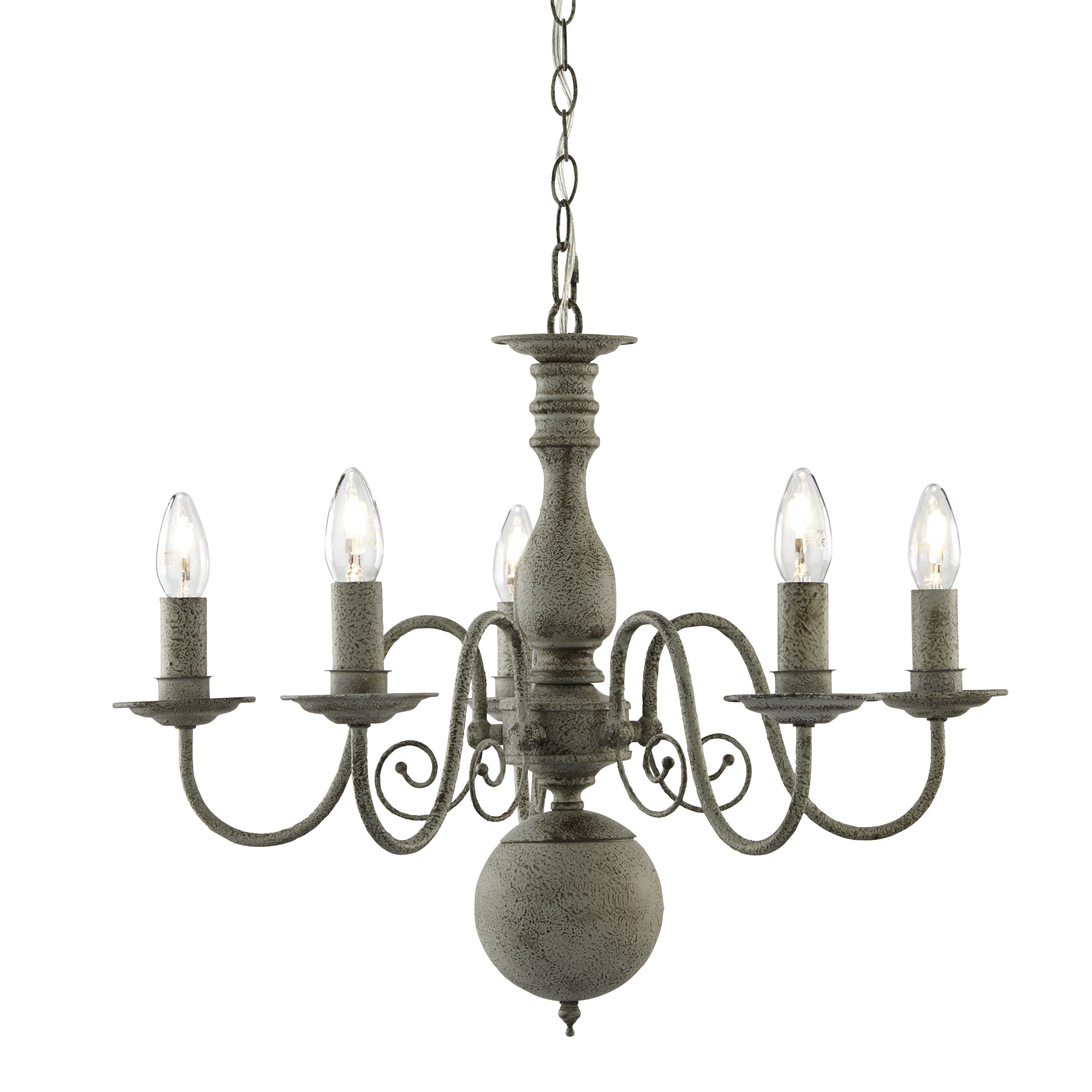 k chandelier light laurel modern old foundry style farmhouse giverny fashioned candle wayfair