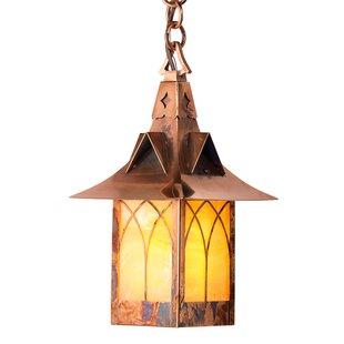 Millwood Pines Wentzel 1-Light Outdoor Hanging Lantern