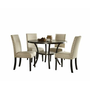 Shelly 5 Piece Dining Set Canora Grey