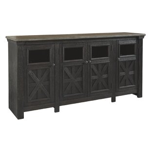 Where buy  Leopold Tyler Creek TV Stand for TVs up to 75 by Gracie Oaks Reviews (2019) & Buyer's Guide