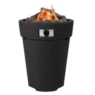 Best Lisa Polyresin Propane Fire Pit