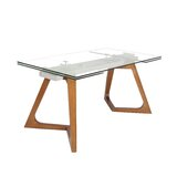 Leong Ruth Large Extendable Dining Table Dining Table by Orren Ellis