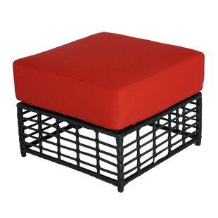 Melrose Ottoman with Cushion by Meadow Decor