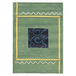 Seamus Dark Green Area Rug