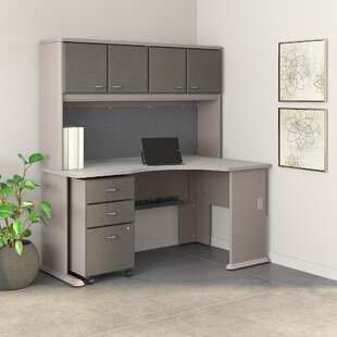 Series A Right Corner 3 Piece U-Shaped Desk Office Suite by Bush Business Furniture
