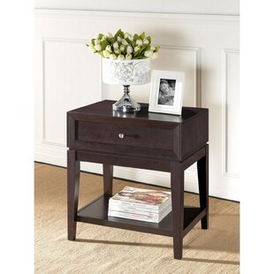 Pesina Modern 1 Drawer Nightstand by George Oliver