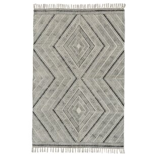 Compare & Buy Lovell Hand-Woven Black Area Rug By Union Rustic