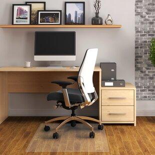 Cleartex Hard Floor Straight Edge Chair Mat By Floortex