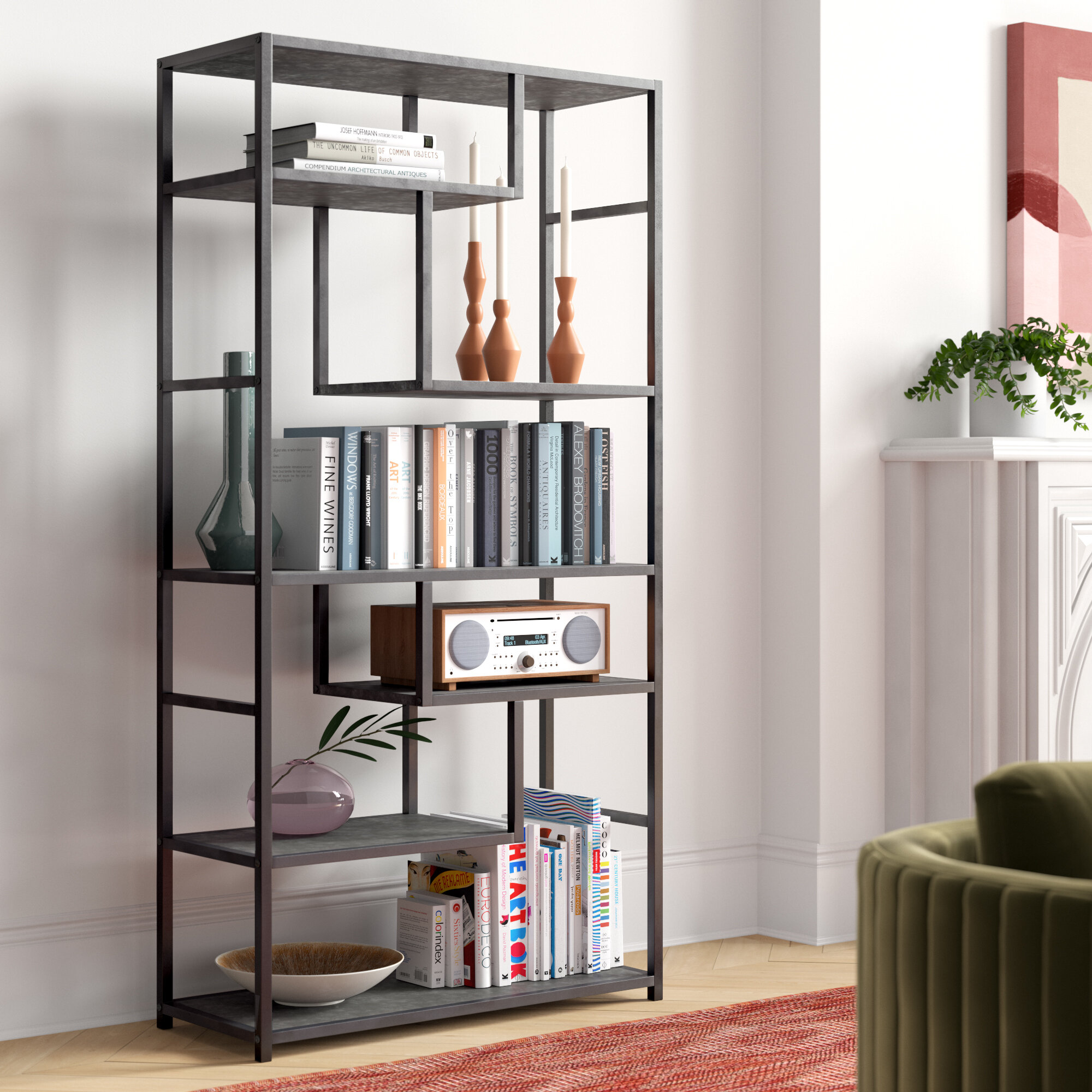 Wayfair Geometric Bookcases You Ll Love In 2021