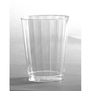 Classicware Crystal Plastic Plastic Disposable Cup