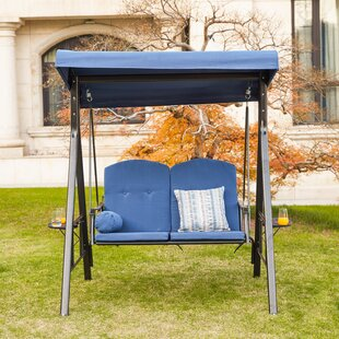 Darwen 2 Person Porch Swing with Stand by Freeport Park