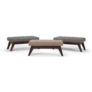 Halvorson Tufted Cocktail Ottoman by George Oliver