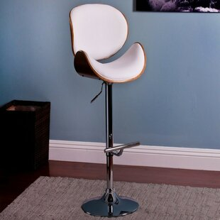 Standridge Modern Adjustable Height Swivel Bar Stool by Orren Ellis Cool
