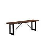Nesbit Industrial Wood Bench by Loon Peak®