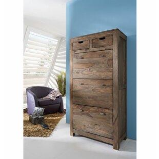 Nature 15 Pair Shoe Storage Cabinet By Massivmoebel24