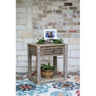 Coley Single Drawer End Table by Millwood Pines