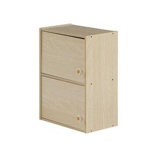 2 Door Storage Cabinet By Rebrilliant
