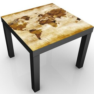Map Of The World Children's Table By 17 Stories