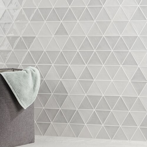 Siene Smoke Gray 5 in x 10 in x 9 mm Ceramic Wall Tile 28 Pieces// 10.76 sqft//case