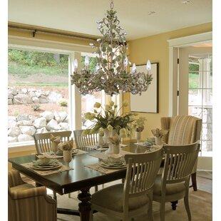 House of Hampton Hepler 6-Light Crystal Chandelier