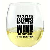 Cashel Plastic Stemless Wine Glass by Winston Porter