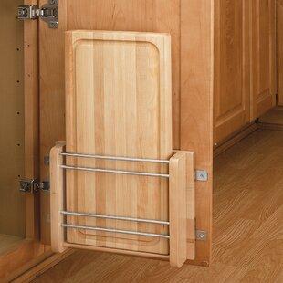 Cabinet Door Mount Cutting Board by Rev-A-Shelf