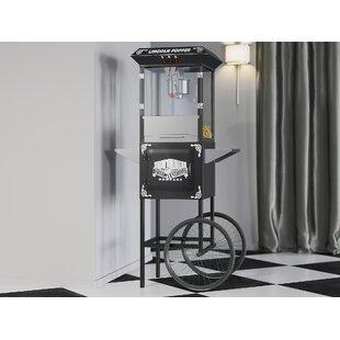 8 Oz. Herr Antique Popcorn Machine with Cart