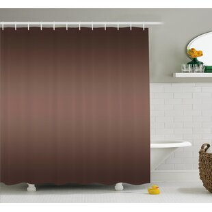Inspired Digital Brown Room Decor Single Shower Curtain