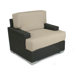 Patio Heaven Signature Club Chair with Cu..