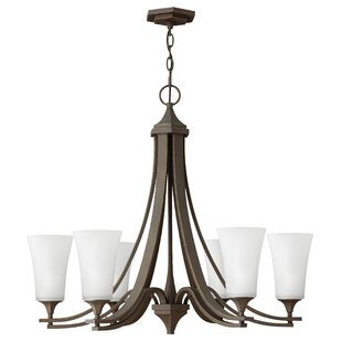 Red Barrel Studio Lurganville 6-Light Shaded Chandelier