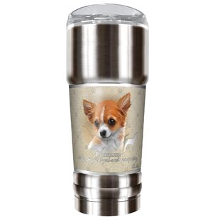 Howard Robinson's Chihuahua 32 oz. Stainless Steel Travel Tumbler