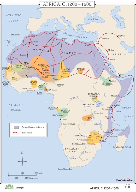 Universal Map World History Wall Maps Africa Reviews - Maps of africa
