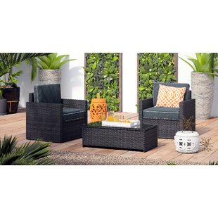 Belton 3 Piece Seating Group with Cushions