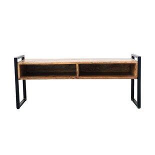 Nilda Metal/Wood Storage Bench by Union Rustic