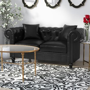 Antonie Chesterfiled Loveseat by House of Hampton Looking for