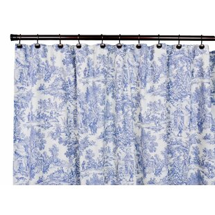 Find for Gatineau Cotton Toile Shower Curtain ByLark Manor