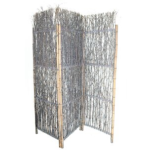 Bayou Breeze Piyush Willow 3 Panel Room Divider
