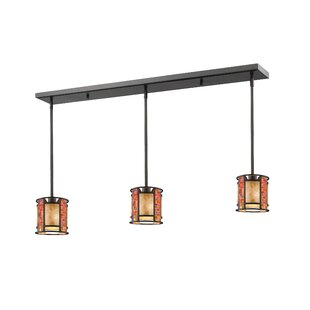 Fleur De Lis Living Brittain 3-Light Kitchen Island Pendant