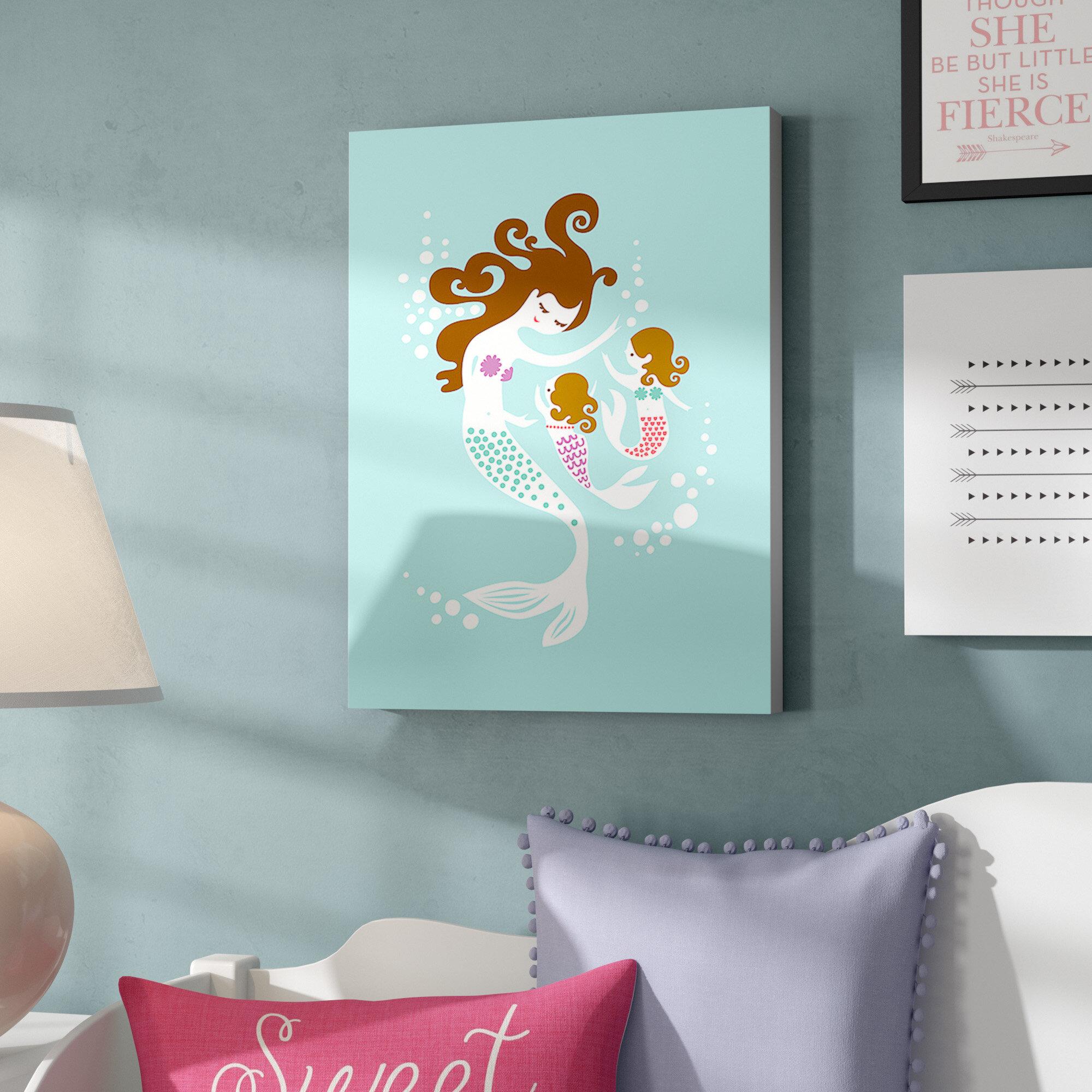 Harriet Bee Belterra Mermaid Daughters Paper Print Wayfair